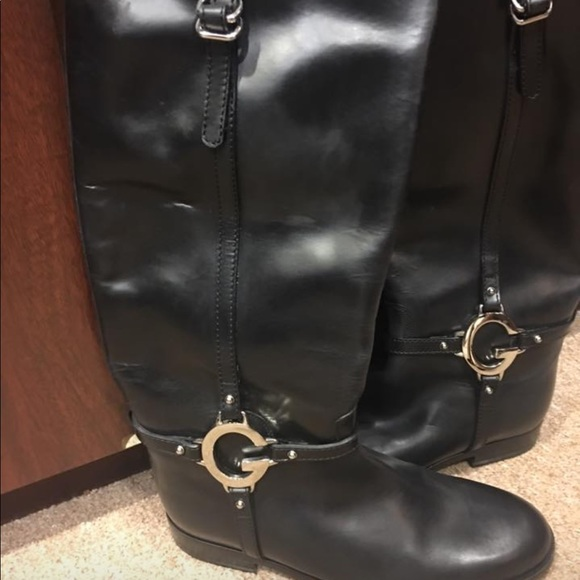 6e603ebf83c Gucci Shoes - Gucci Black Riding Style Boots Never Worn